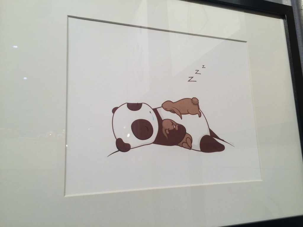 panda and bunny print from mehoi