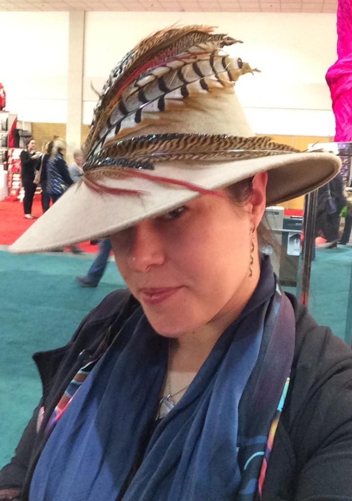 beautiful hat by lilliput hats toronto