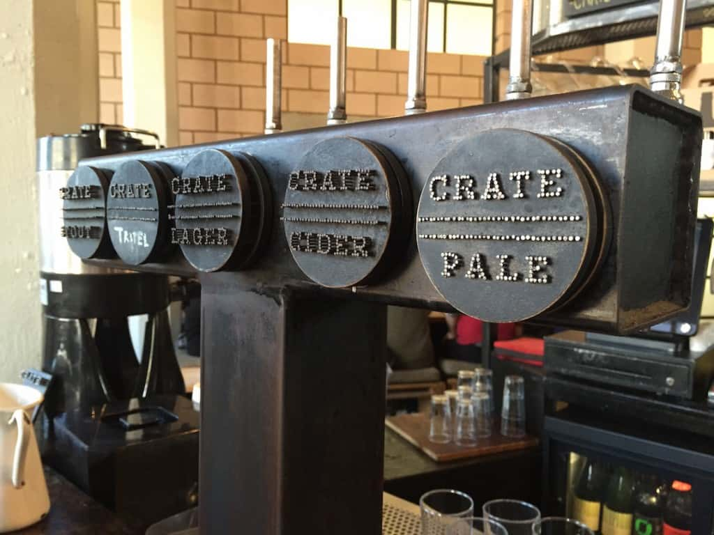 crate beer tasting tour