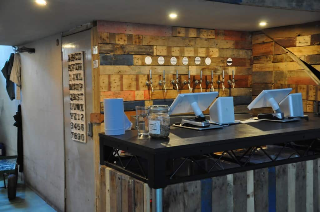 private bar crate brewery east london