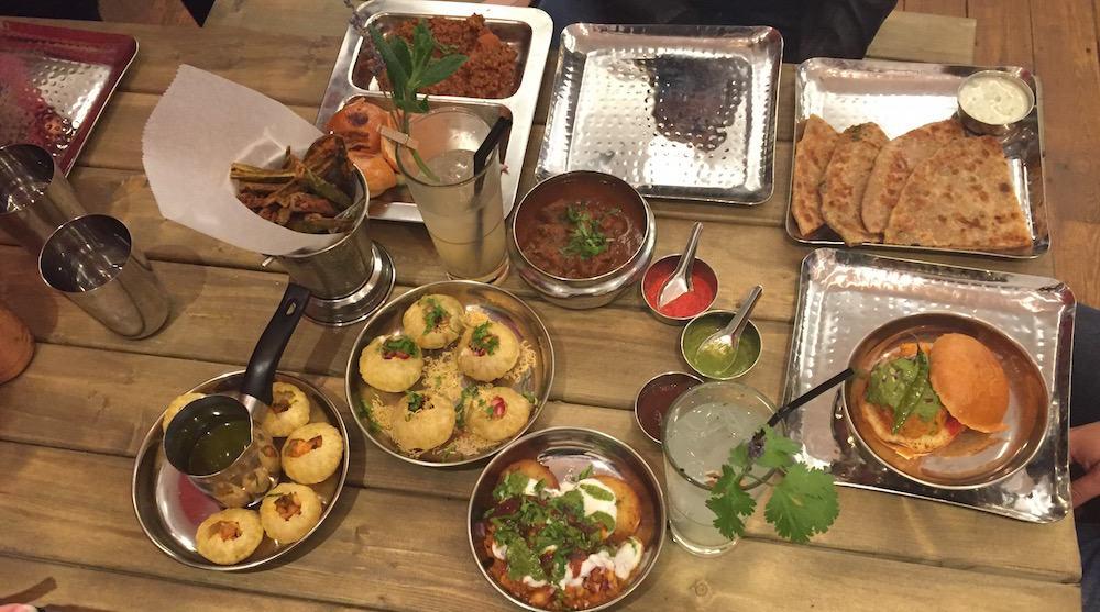 indian street food london image