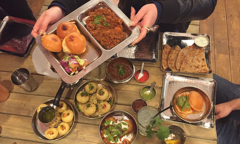 indian street food london sloppy joe image