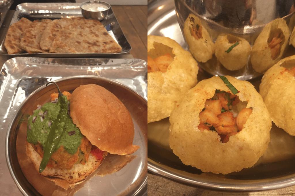 indian streetfood london closeup image