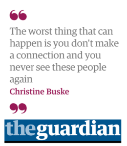 the guardian quote by Christine Buske