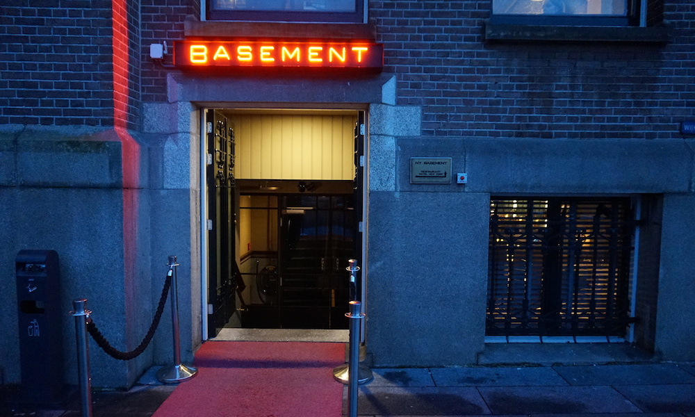 The basement in Hotel New York Rotterdam